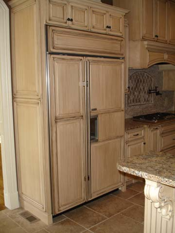black kitchen cabinets brown